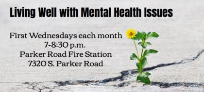 Living Well with Mental Health Issues @ Parker Road Fire Station