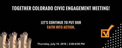 Together Colorado Civic Engagement Meeting @ Together Colorado