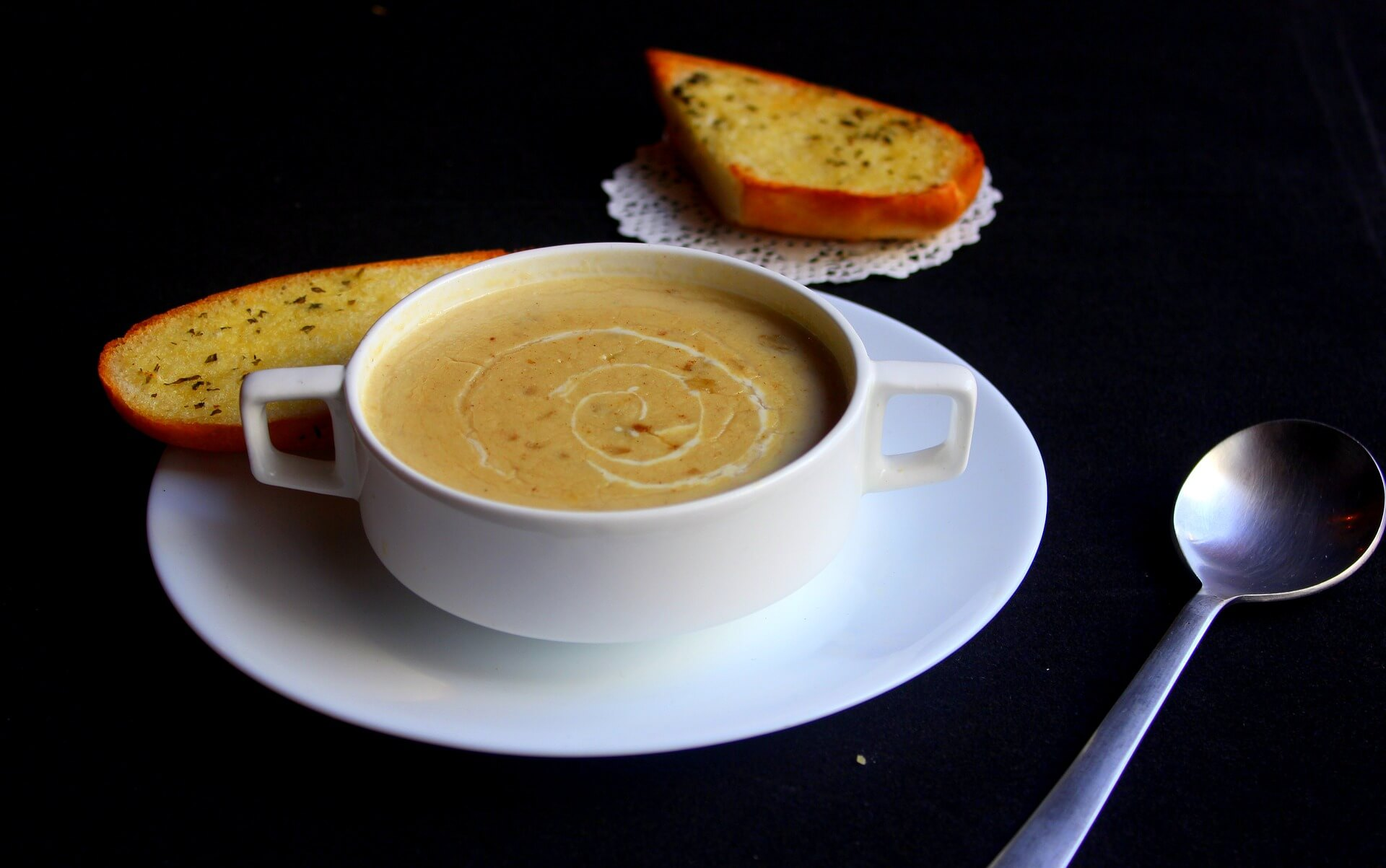 Soup and Bread Communion